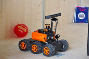 The Corebot robot that won twice the French mobile robotics challenge CAROTTE (2010 & 2011)